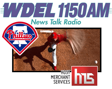 Host Merchant Services, WDEL 1150 AM and the Philadelphia Phillies