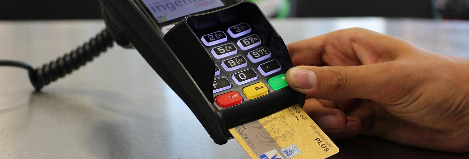 Using PIN pad to process EBT payment
