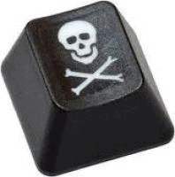Host Merchant Services image of a pirate button keyboard