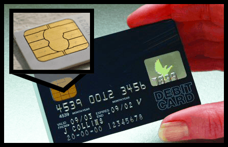 Host Merchant Services image of smart card chip technology