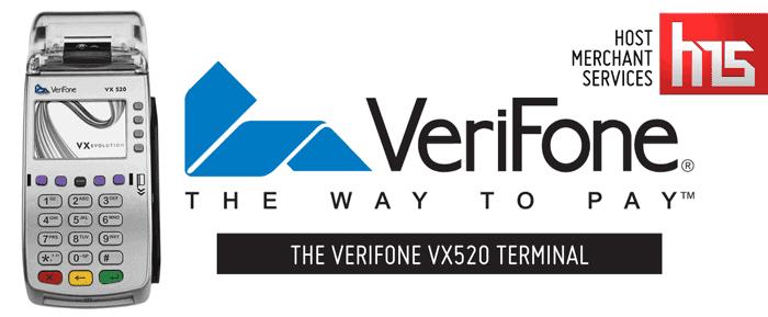 Verifone Vx 520 Terminal - Host Merchant Services