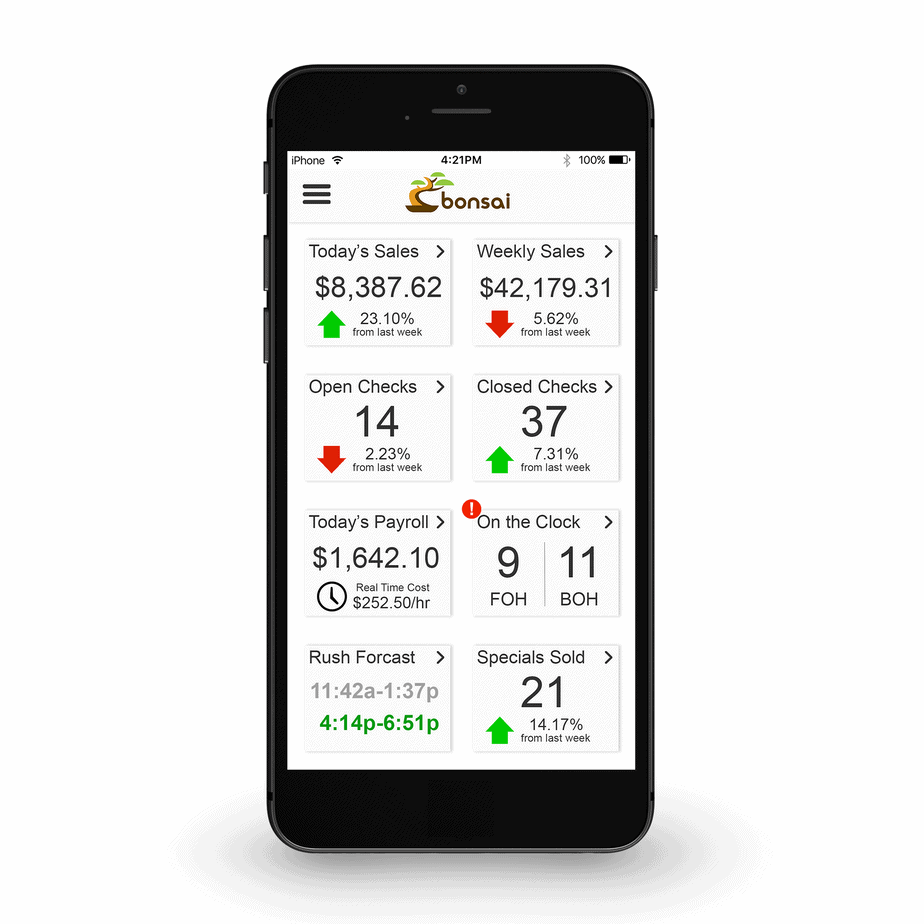 POS System Mobile analytics
