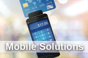 Merchant services host merchant services use mobile swipers to make sales anywhere on a smart phone whether you have a large or small business mobile credit card processing brings the world to reheart Images