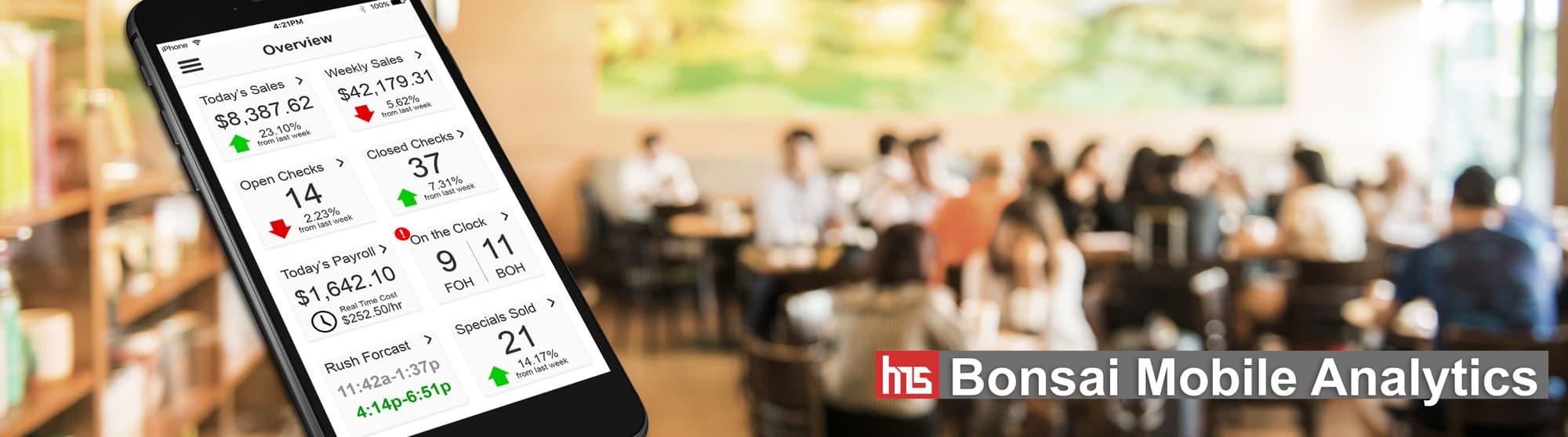 Bonsai Mobile Analytics App