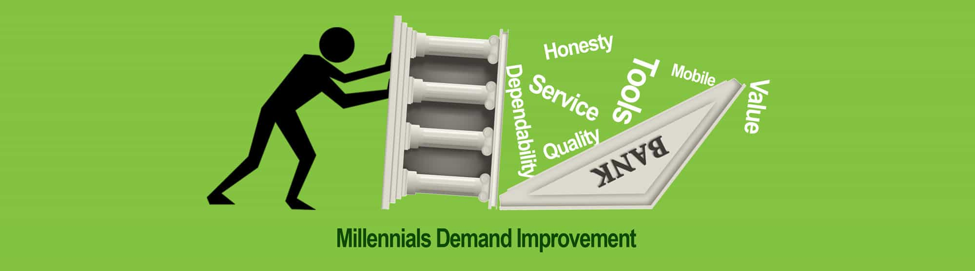 Millennials want improved service from Banks