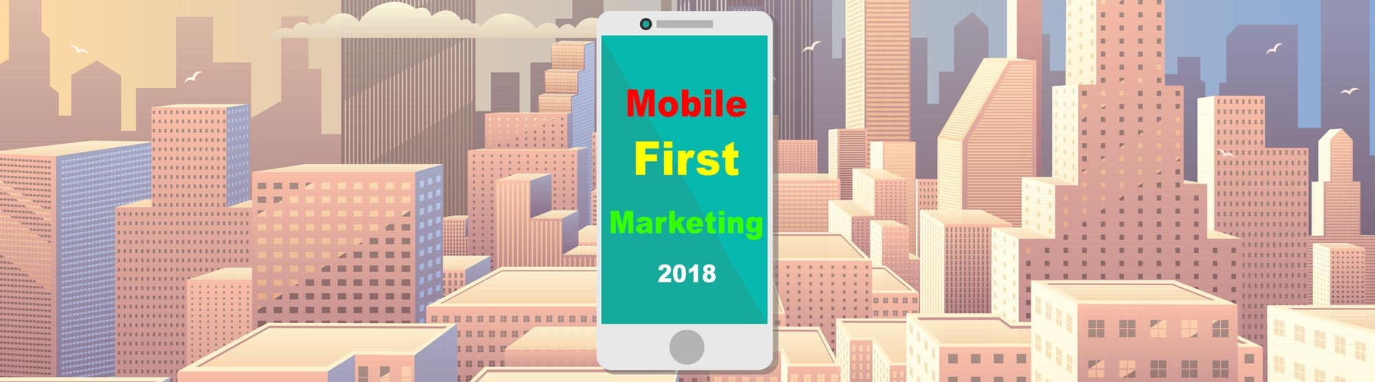 Online ordering mobile first marketing
