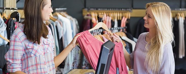 Retail clothing merchant account