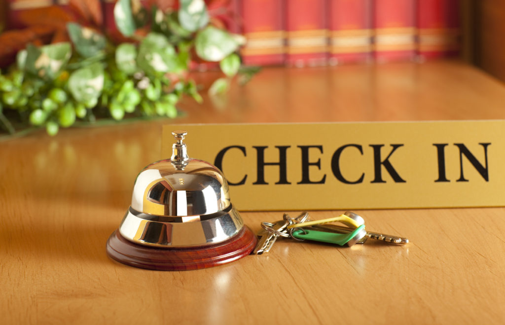 Hotel lodging merchant services