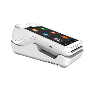 Pax A920 Credit Card Terminal in dock