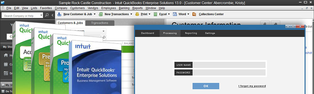 Verosa Quickbooks integration for payment processing