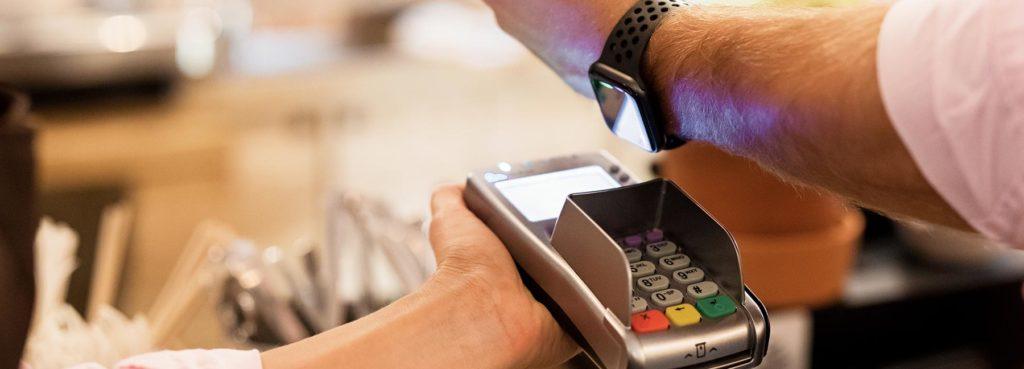 NFC contactless payment smart watch