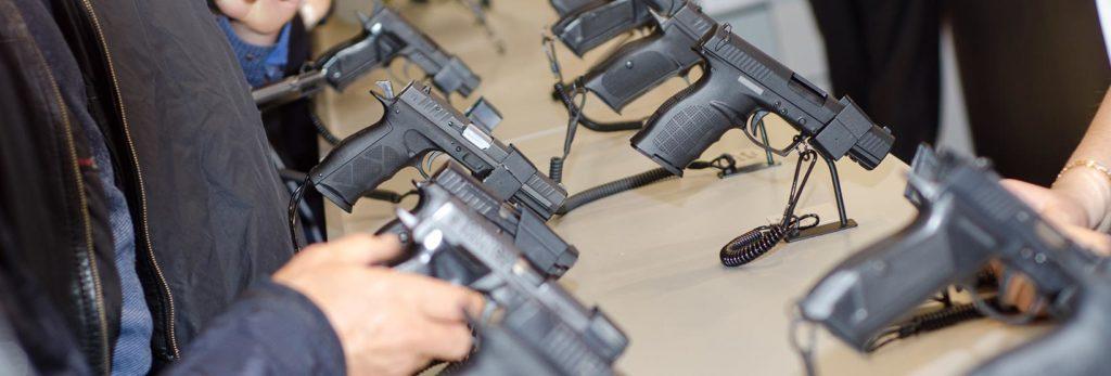 gun shop mobile e-commerce purchases