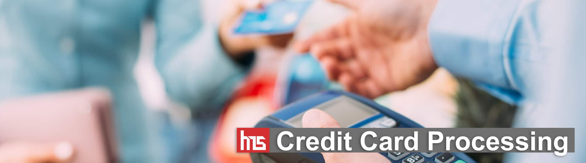 credit card processing banner