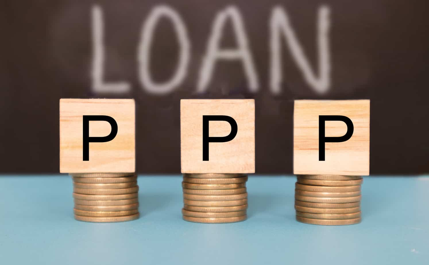ppp-or-paycheck-protection-program-business-loan-as-coronavirus-or-covid-19-aid-concept-179747423