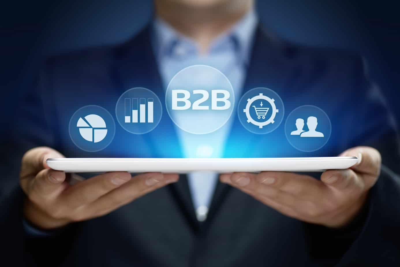 b2b-business-company-commerce-technology-marketing-concept-110681073