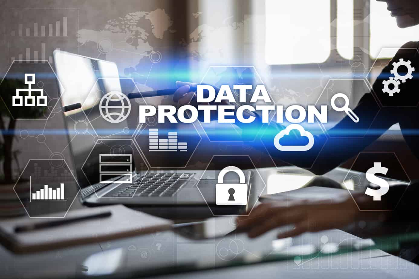 data-protection-cyber-security-information-safety-technology-business-concept-95499354