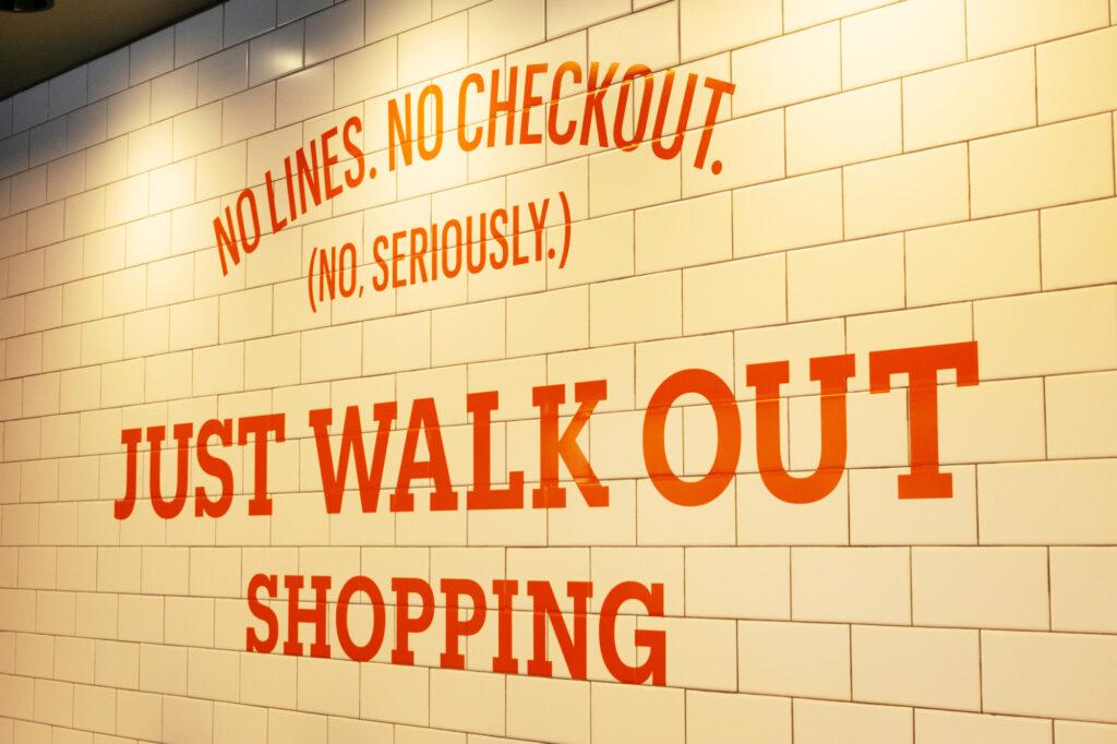 Amazon Go Convenience Store No Lines No Checkout Advertisement 165352607