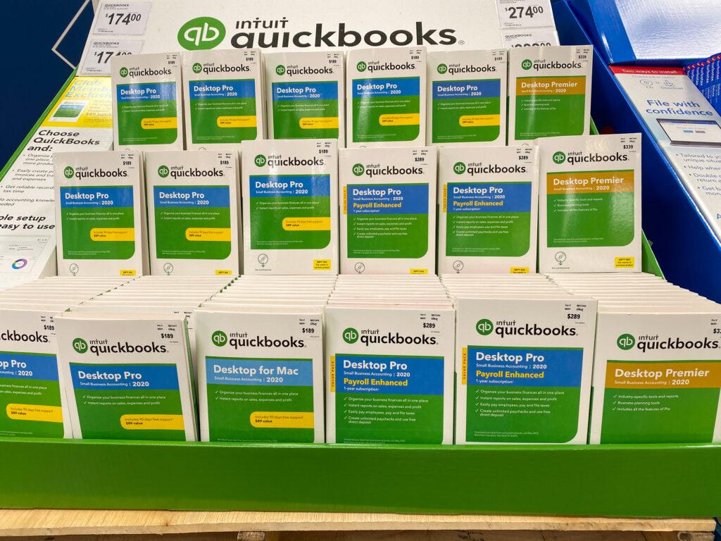 Intuit Quickbooks Desktop Pro And Desktop Premier Computer Software Accounting Packages 175097998