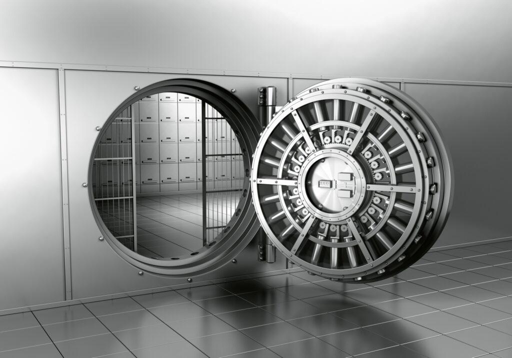 Open Bank Vault 8453967