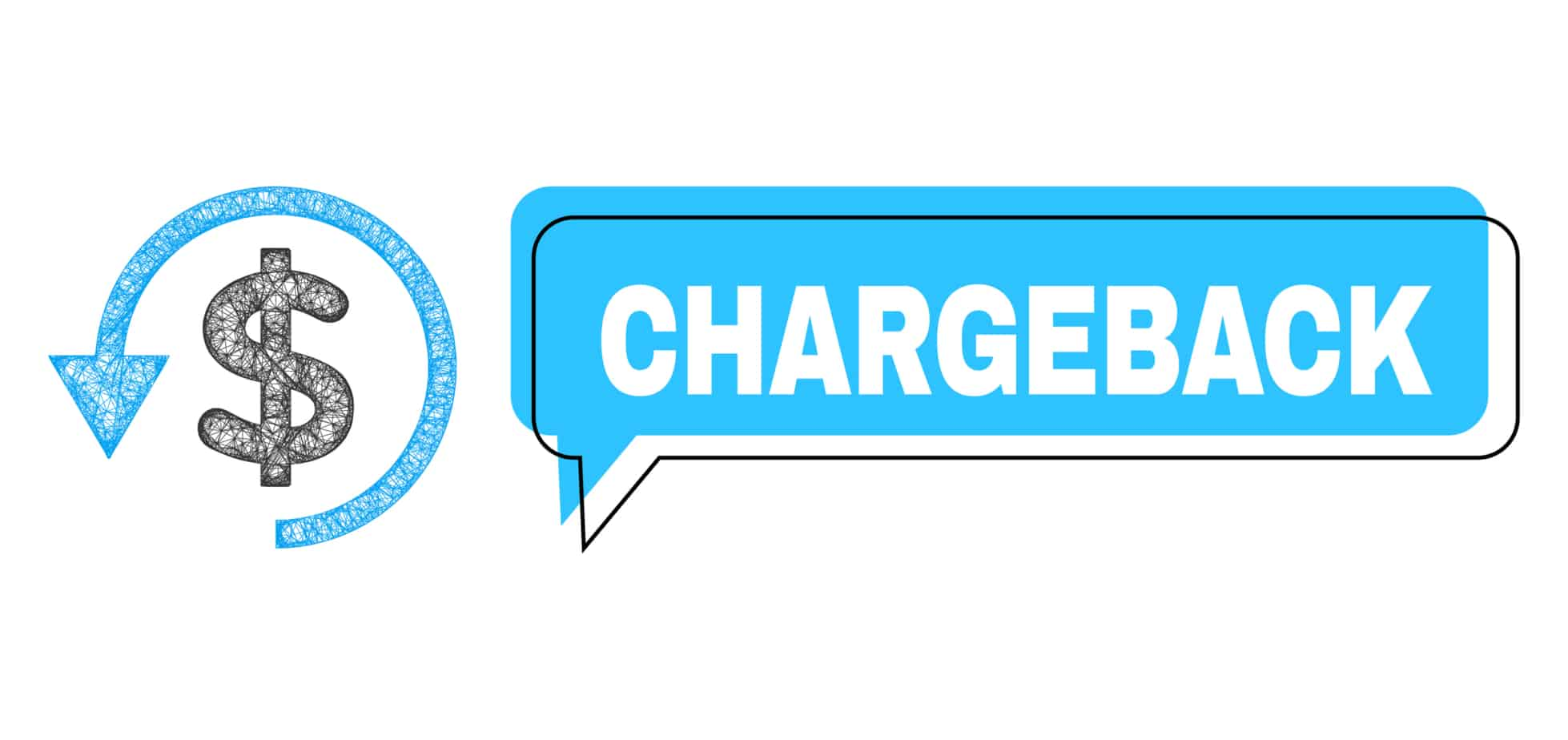 Misplaced Chargeback Chat Balloon And Net Mesh Chargeback Icon 205576513