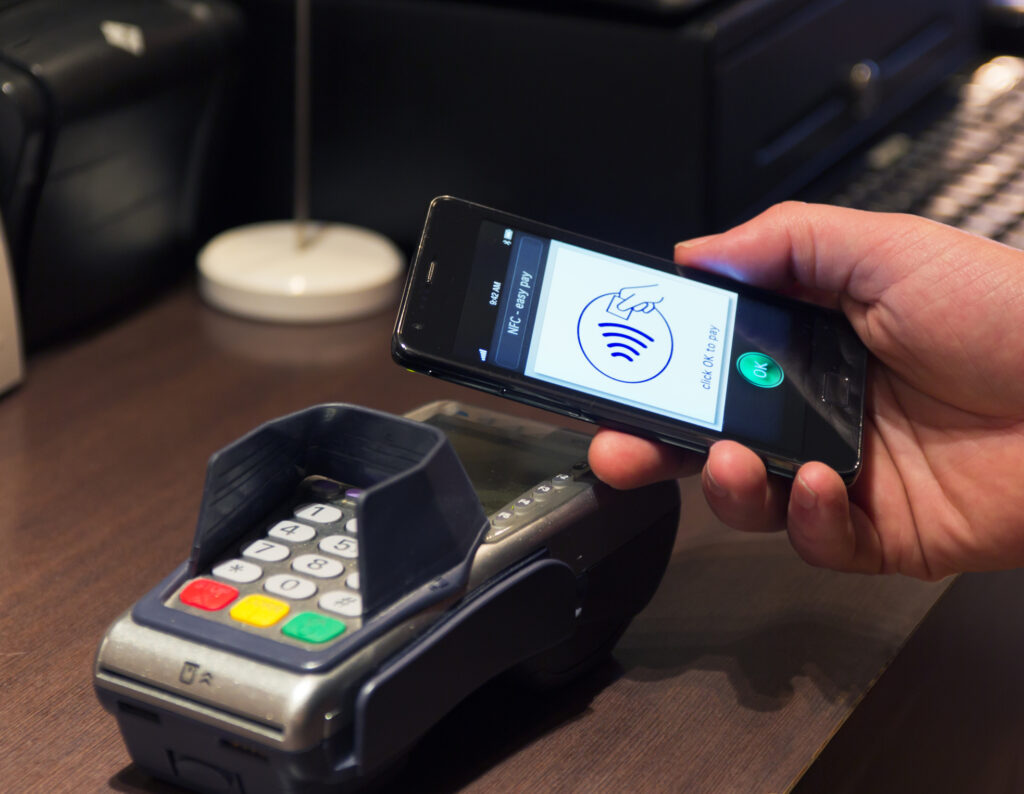 Nfc Near Field Communication Easy Pay 24877555
