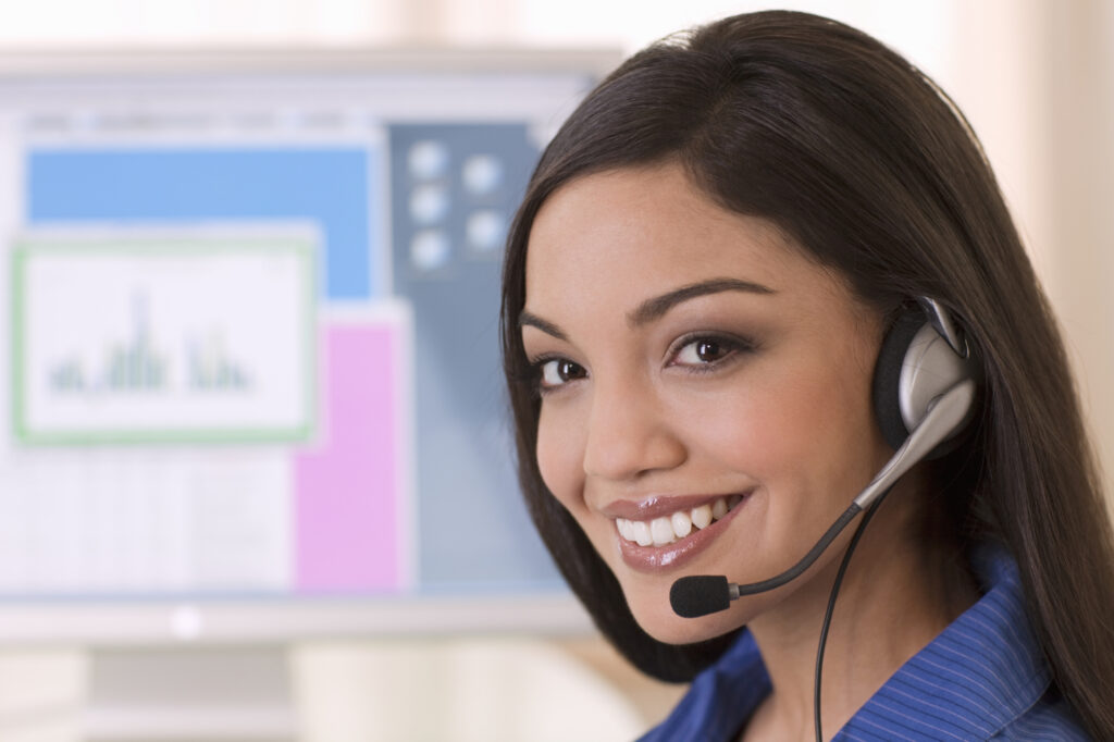 Smiling Customer Service Rep 9394621