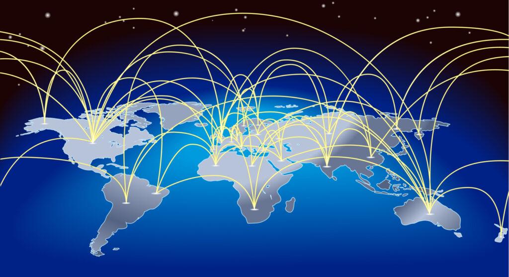 World Trade Map Background 4104828
