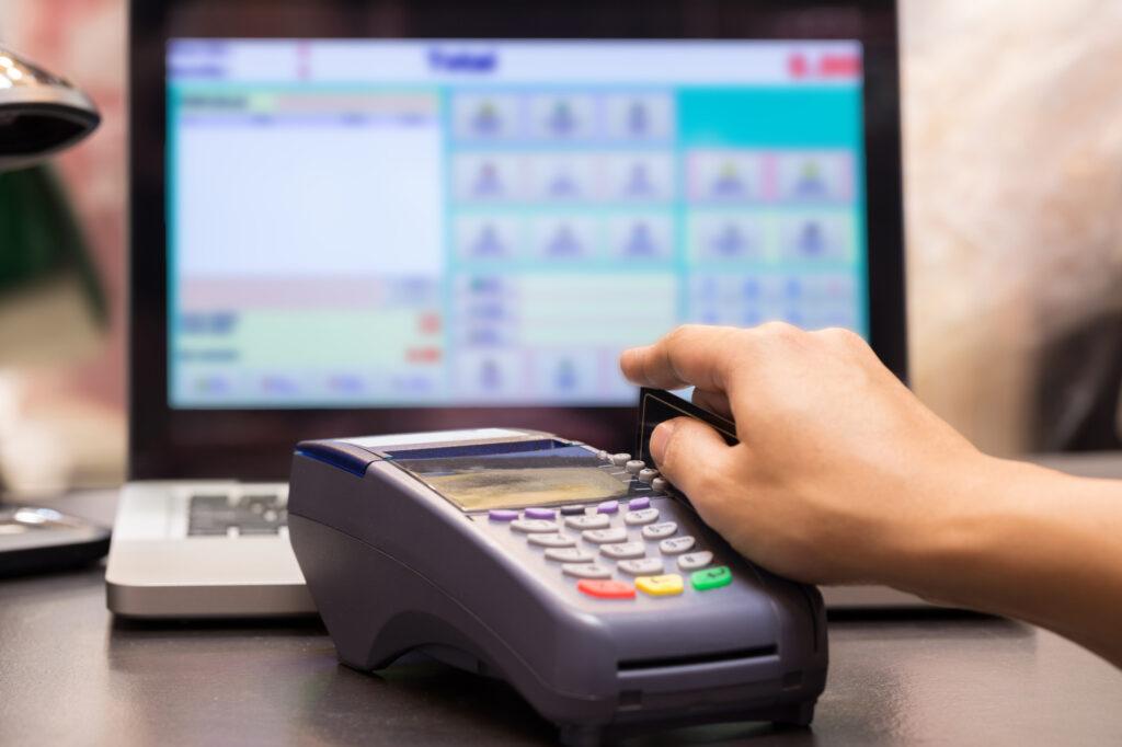 credit card machine 62179140