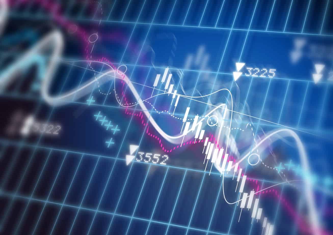 stock market diagram 9234372