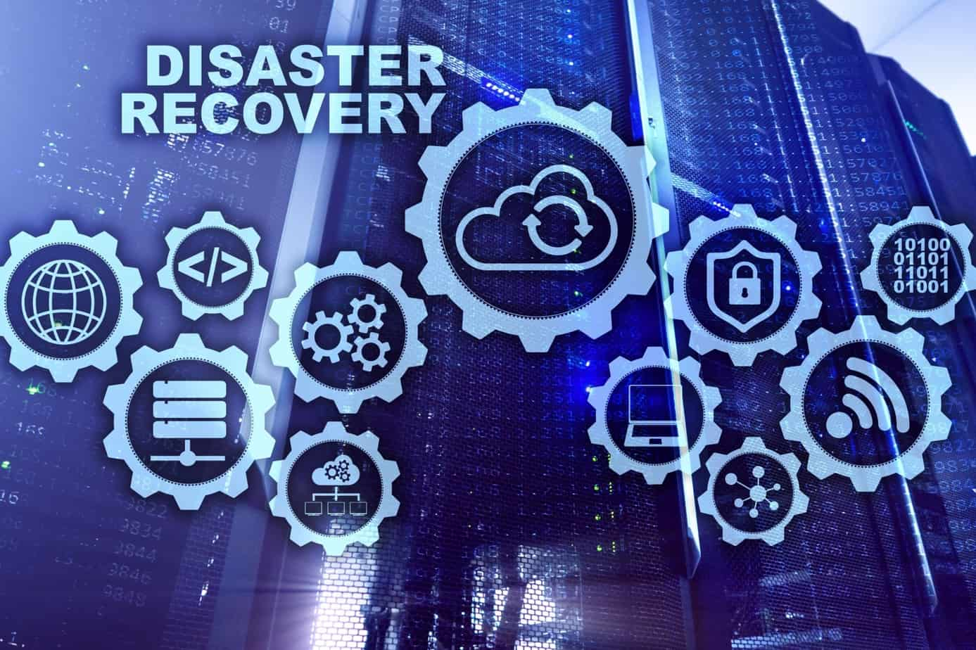 big data disaster recovery concept backup plan data loss prevention on a virtual screen 141875986