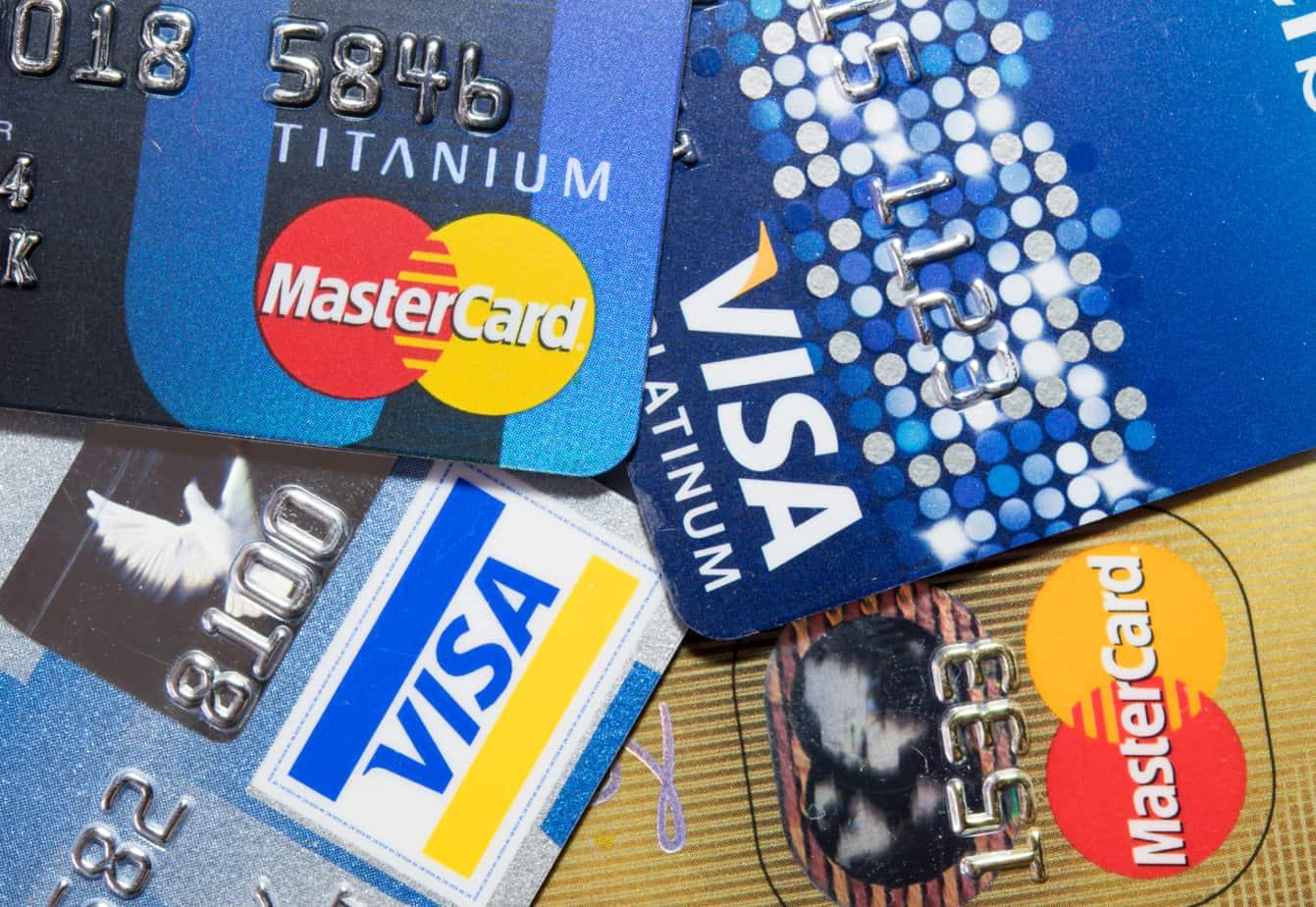 closer up credit card 44525311