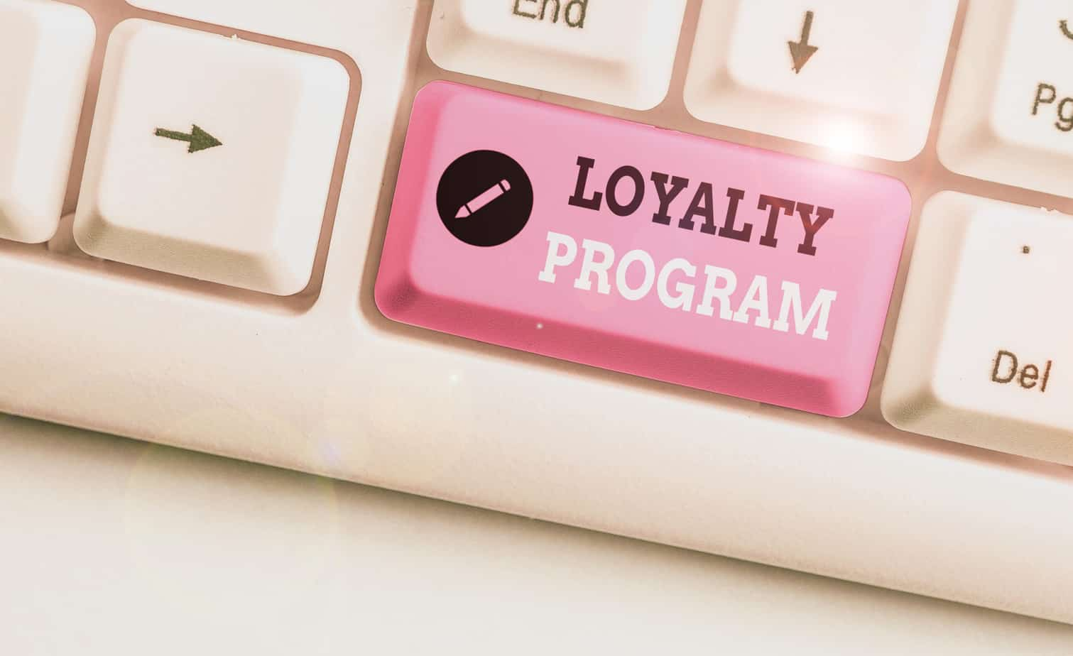 text sign showing loyalty program conceptual photo marketing effort that provide incentives to repeat customers 174820251